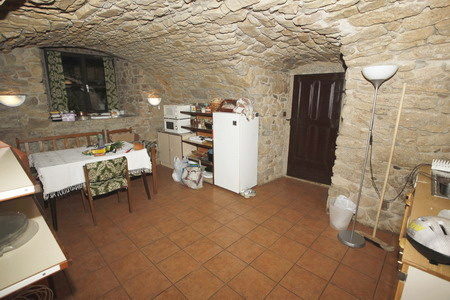 Dům ve Strmilově v jižních Čechách - kuchyňka
